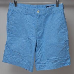 Vineyard Vines Blue Flat Front Breaker Shorts 30